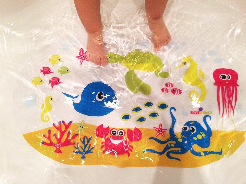 Accessoire Salle De Bain Bebe ~ tapis de bain enfant meilleurs tapis de bain b b