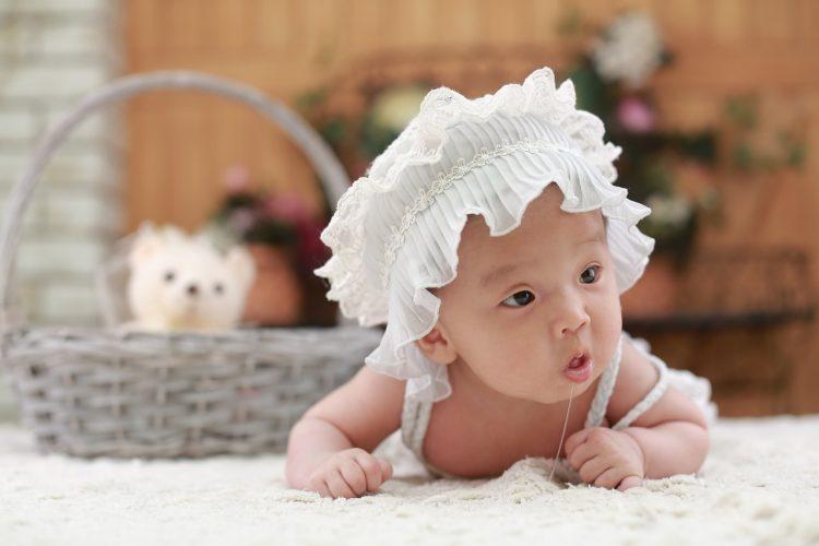 Shooting bébé : la nouvelle tendance