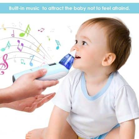 comment se servir d'un mouche bébé